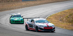 From third to first - Top Rookie! Gary Trudeau claims his first ever Touring Car (TC) class win at Sonoma Raceway