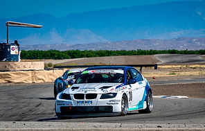 Larry Bani debuts new car in GT class with pole position and second place finish