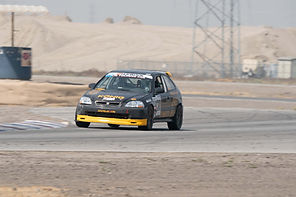 Reza Arsham Debuts New Car and Finishes Second at Buttonwillow