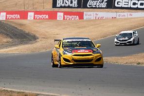 Ali Arsham Finishes Second at Sonoma Raceway