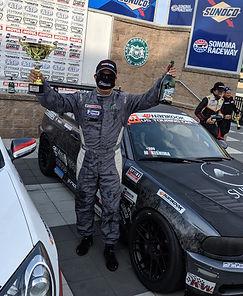 Doug Makishima wins USTCC round 3 in Super Touring (ST) extending his winning streak to 9