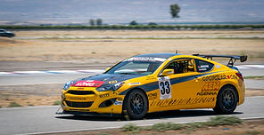 Arsham has transmission issues at United States Touring Car Championship Sportsman season opener at Buttonwillow Raceway and manages to finish fourth.