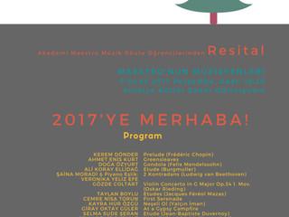 ATSO Antalya Kültür Sanat ile Sanat Dolu Günler ...