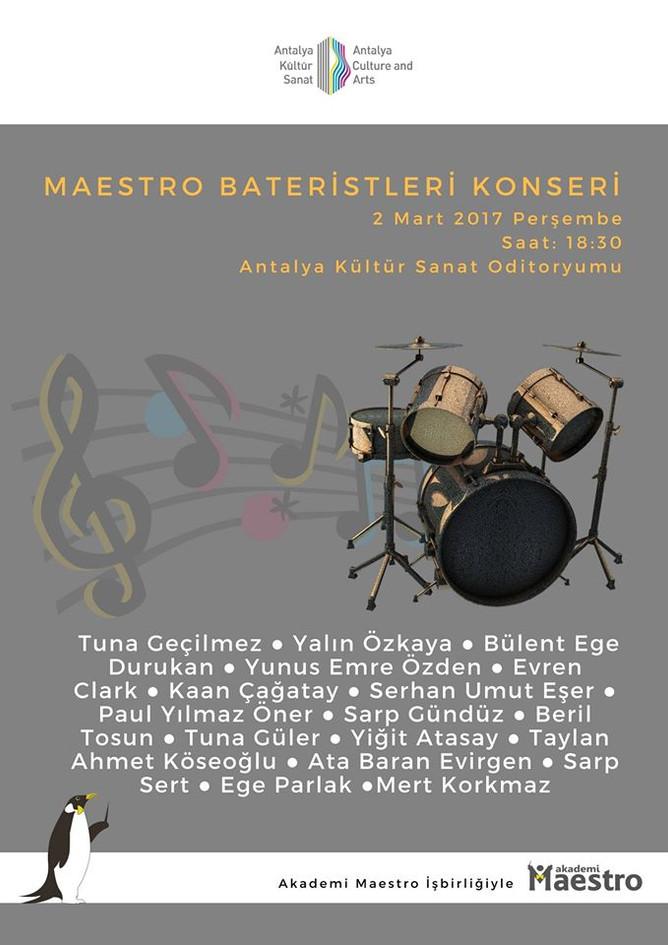 6. Maestronun Bateristleri Rock Konseri
