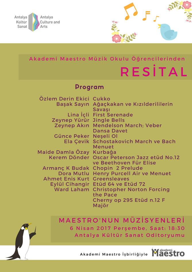 8. Maestronun Minik Ellerinden Konser