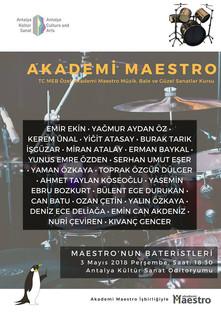 16. Maestronun Bateristleri Konseri