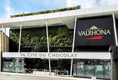living wall valrhona