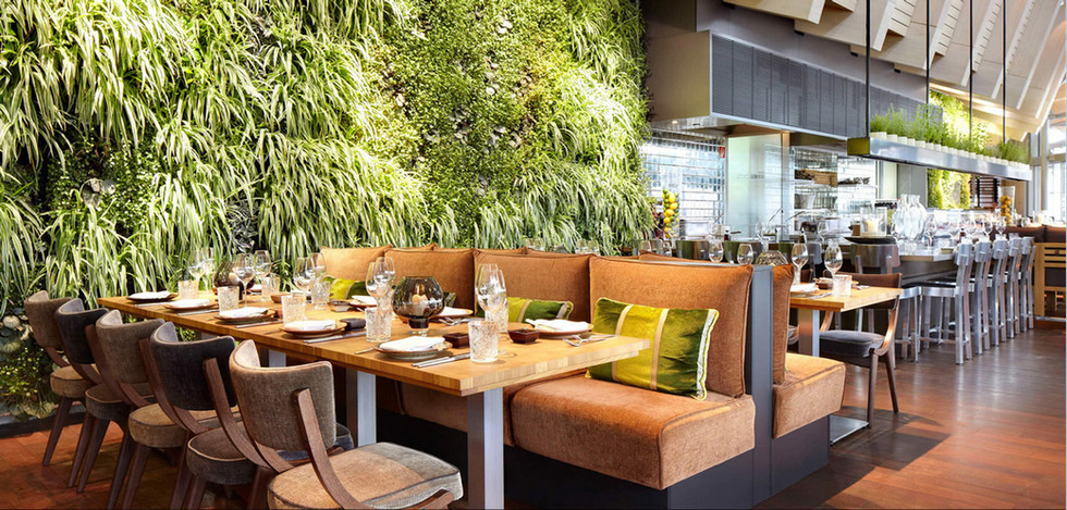 Coast Restaurant Allemagne - jardin vert