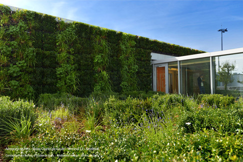 Vertiss Jardin vertical extérieur - Pari