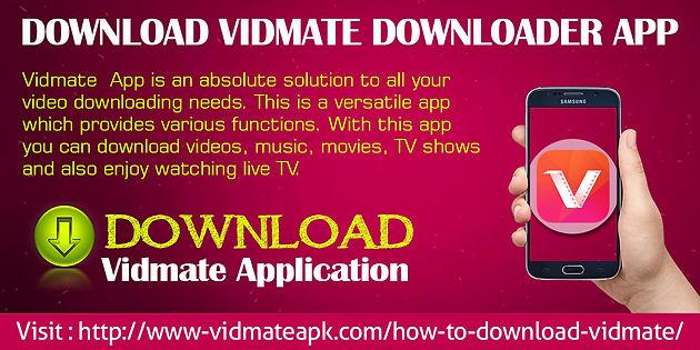 Download Vidmate Downloader App