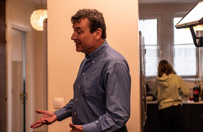 Michel Drouard (Christophe, le père)