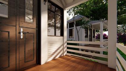 Terrace / Entrance