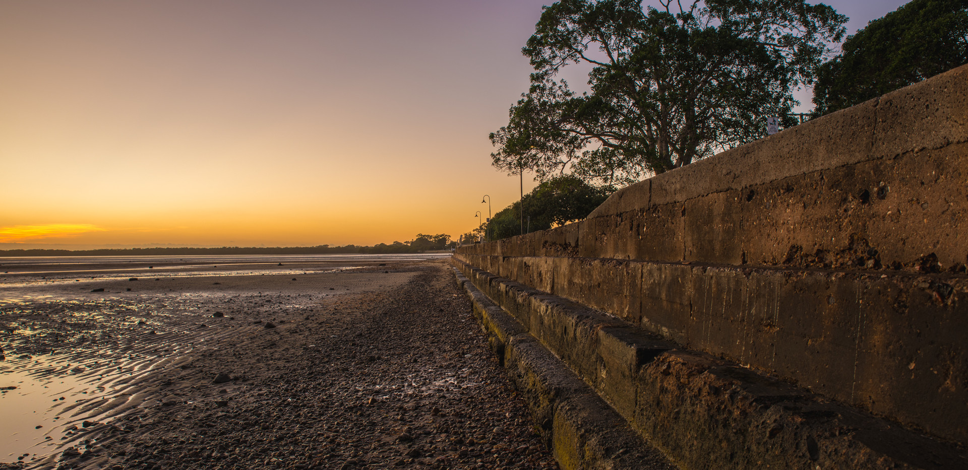 Deception Bay Water Front At Sunrise
