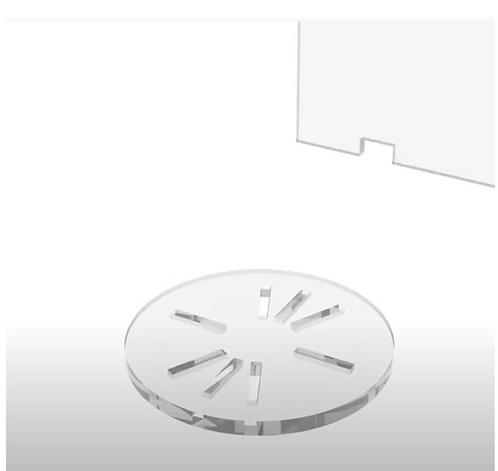 Soporte circular para Panel Modular