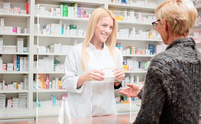 Mampara Anticontagio Farmacias y comercios