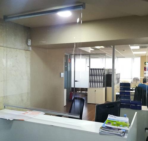 Mampara Anticontagio Enrollable