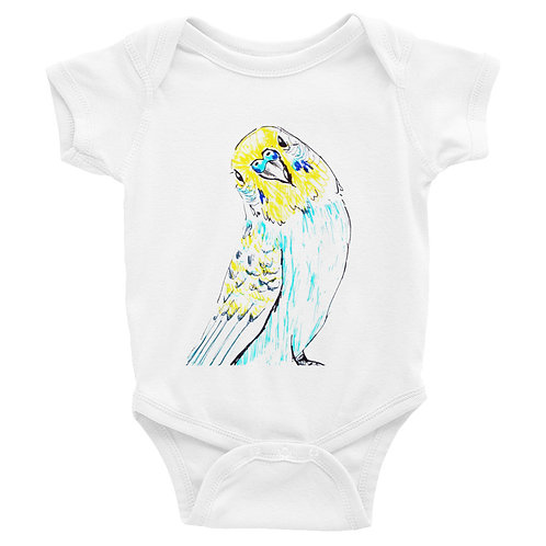 Blue Budgie Infant Bodysuit
