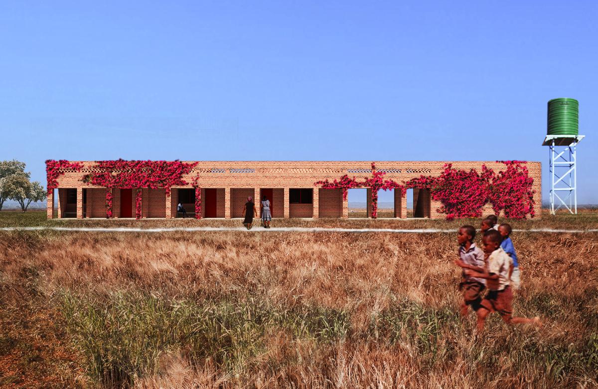 Residence Building Rendering