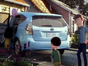 """きれいなマットペイント。Toyota Prius 'Hum' 60"""""""