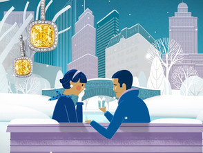 クリスマスの情景を柔らかいタッチで表現 Tiffany & Co. _Holiday