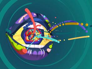 流れるような動きのアニメーション Pause Fest ID 2014