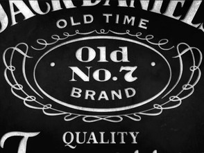 "陰影、ハイライト。Jack Daniel's Label Story: ""Old No. 7"""