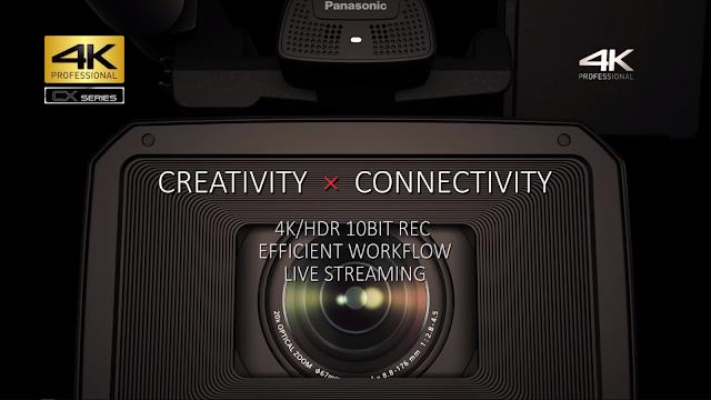 Panasonic CX350 プロモーション動画