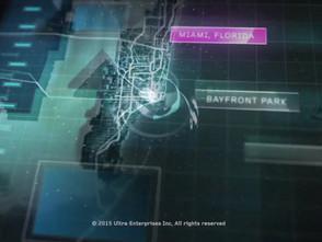インターフェイスデザインで展開させるULTRA LIVE 215 Channel ident