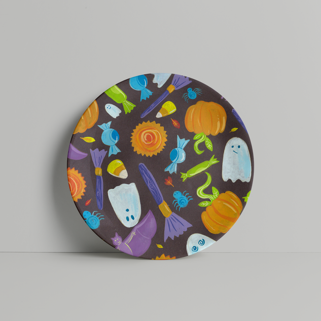 halloweenPlate