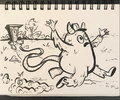 Outhouse Monster