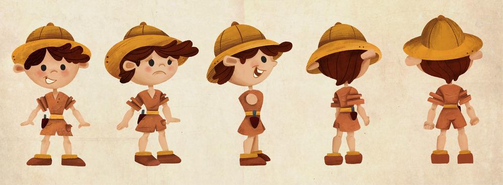Ari Character Design