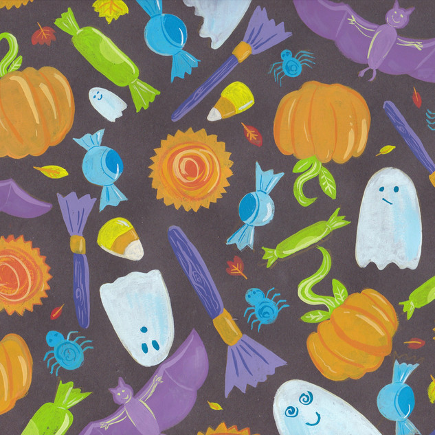 Original Halloween Pattern