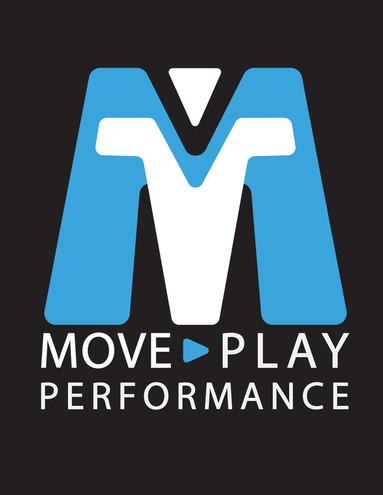 Move, Play, Performance Logo