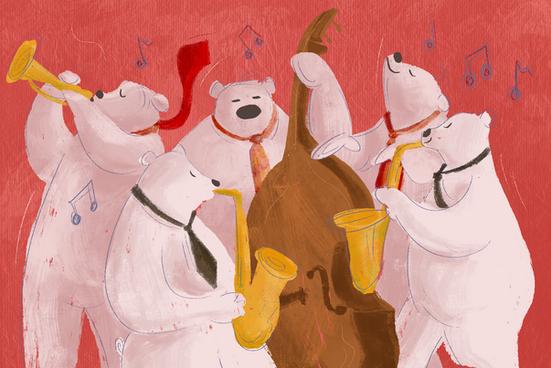 Jazz Bears