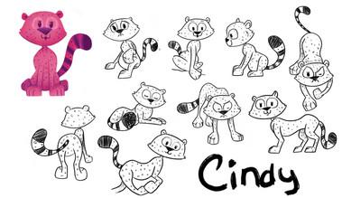 Cindy the Miniature Cheetah