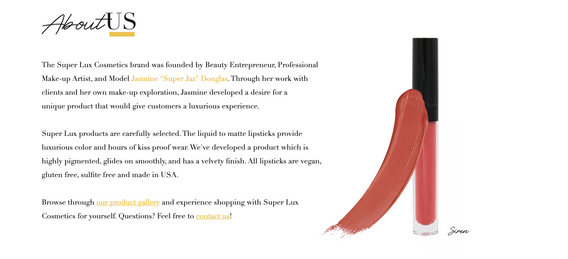 Super Lux Cosmetics About Us