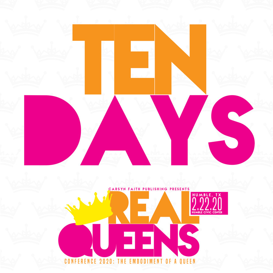Real Queens 10 Day Countdown