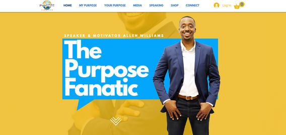 Purpose Fanatic Home Page