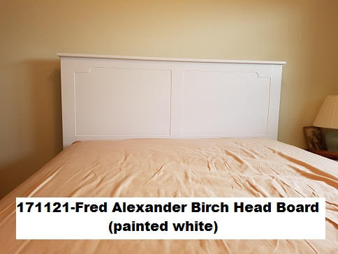 171121-Fred Alexander Birch Head board (