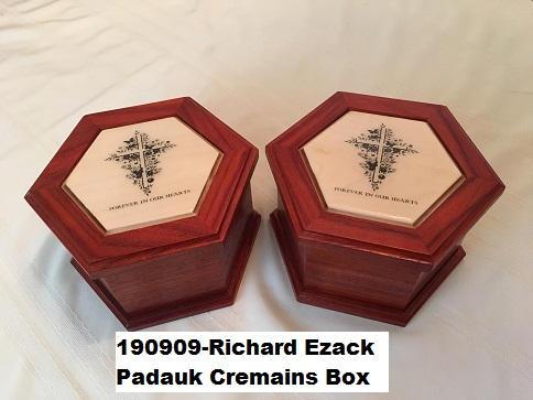 190909-Richard Ezack Padauk Cremains Box