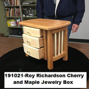 191021-Roy Richardson Cherry  and Maple