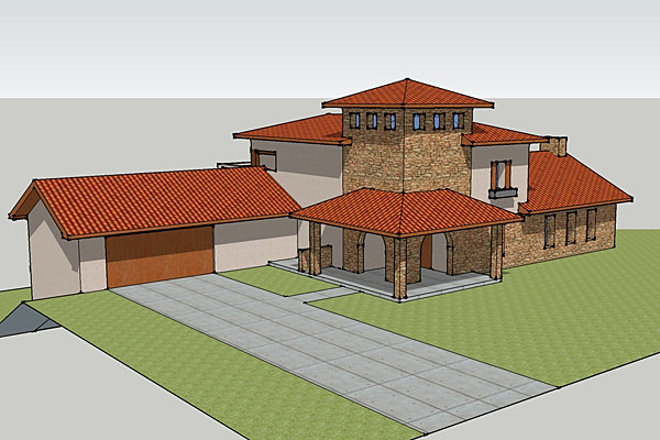 Phi Design | Custom Home Design | Lakefront Concept