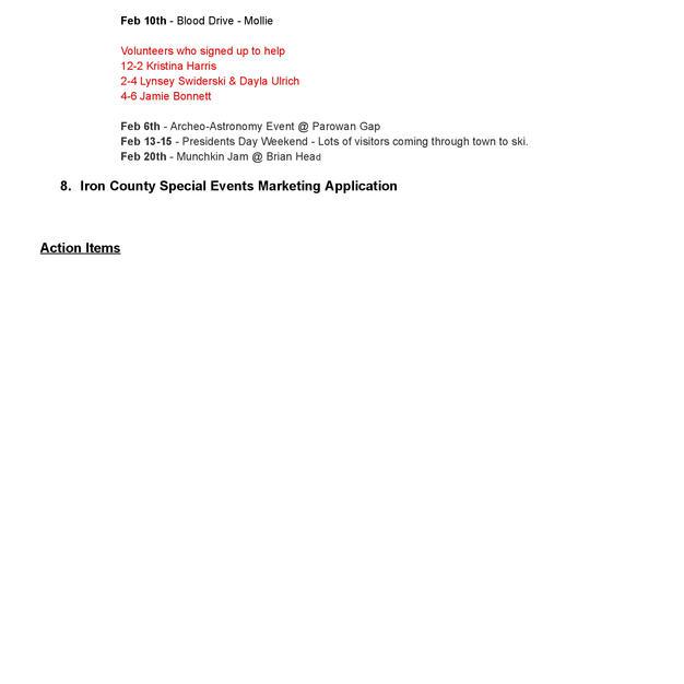 2021-02-03 Parowan Chamber Minutes (2of2