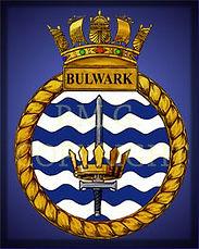 HMS Bulwark Crest