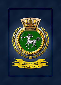 HMS Centaur Crest