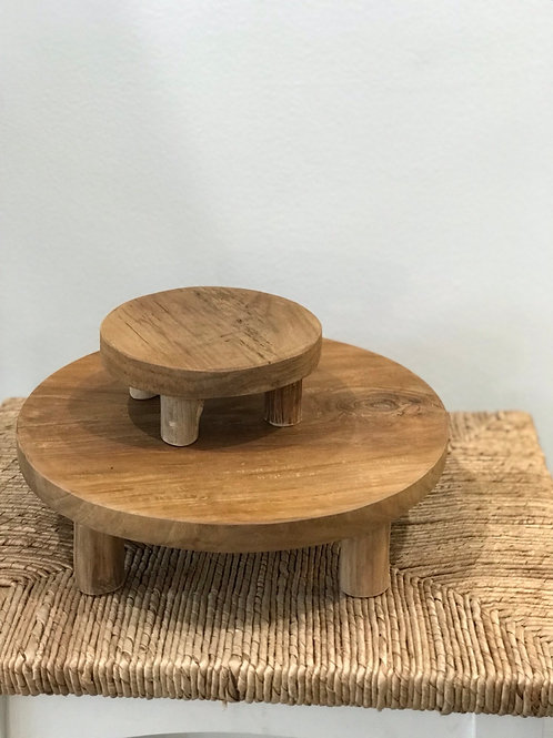 "Wood Stand 12"" x 3.5"" (larger one only)"