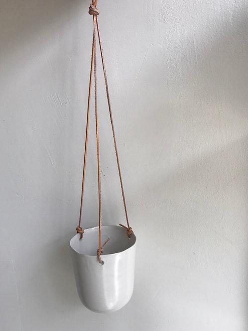 """White Hanging Pot 5"""""""