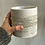 """Thumbnail: Pinstripe White Pot 4.25"""""""