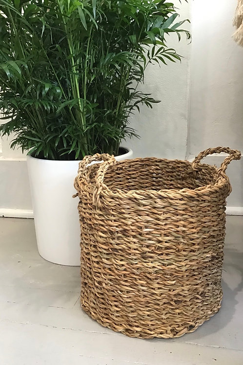 Small Rattan Basket (Plant Sold Separately)