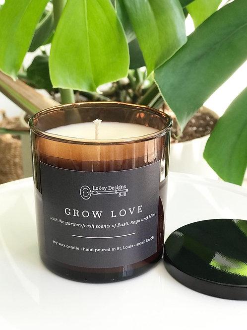 Grow Love Candle